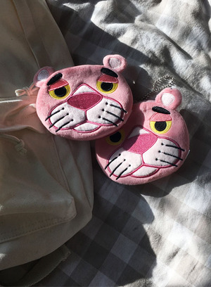 pinkpanther coin purse